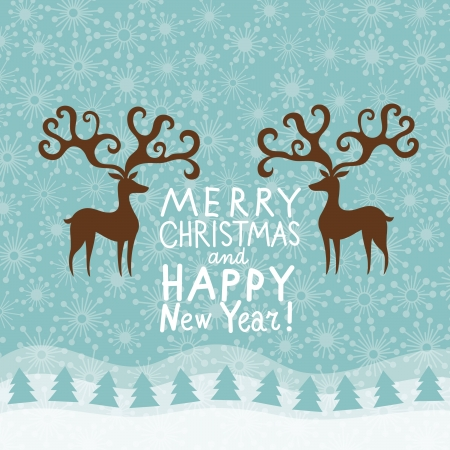 Christmas greeting card Stock Vector - 16240530