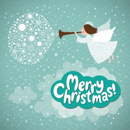 christmas religious: Christmas angel