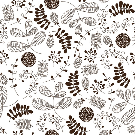 Seamless floral pattern Stock Vector - 19247810