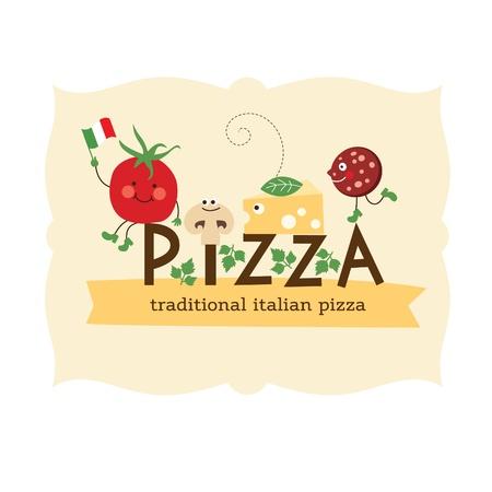 cartooning: Pizza design