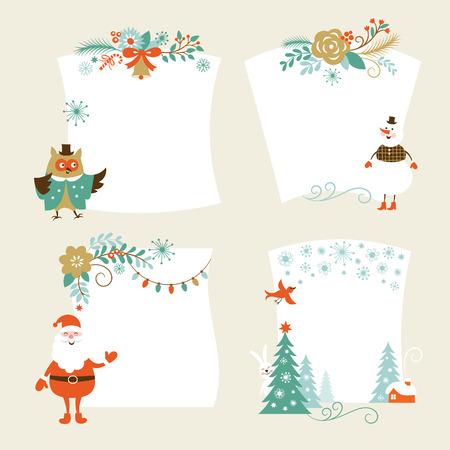 Weihnachtsfahnen Standard-Bild - 22970532
