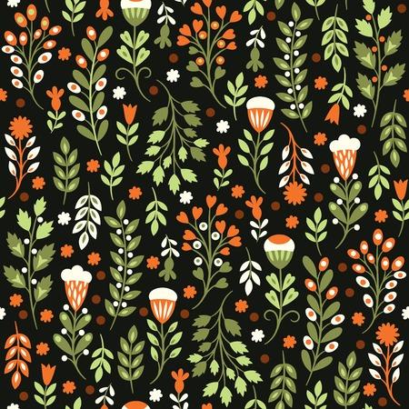 Patrón floral sin fisuras Foto de archivo - 27538694