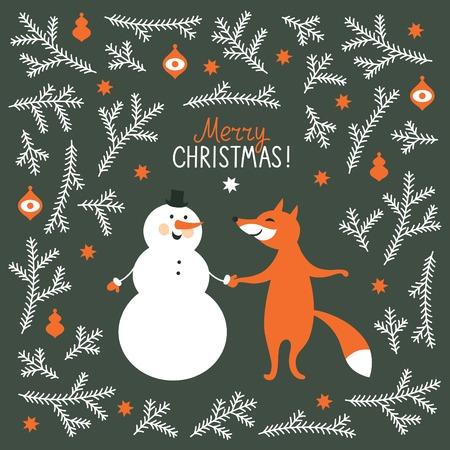 인사말 크리스마스 카드