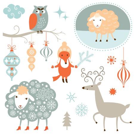 ewe: Christmas Set