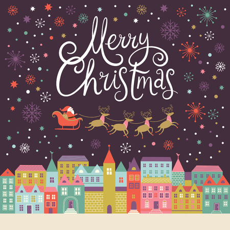 fond de texte: Merry Christmas card
