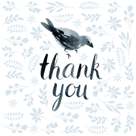 thank you cards: thank you card