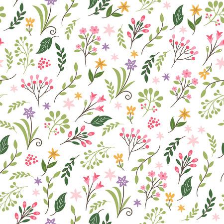 Patrón floral sin fisuras Foto de archivo - 39169494