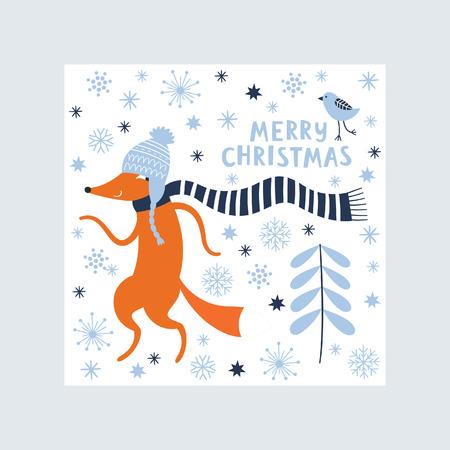 christmas greeting card: Greeting Christmas card