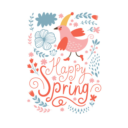 Happy Spring card