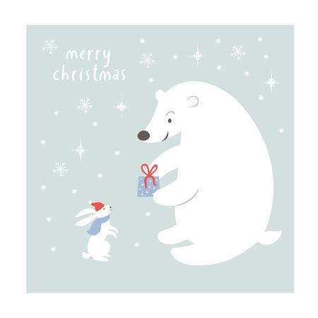 christmas card: Christmas illustration, Christmas card Illustration