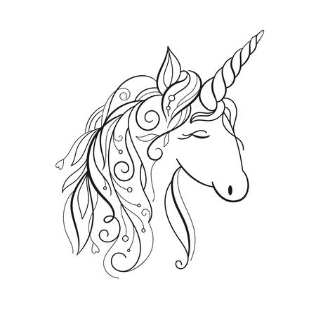 Los unicornios son reales Foto de archivo - 75276596