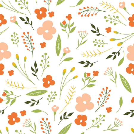 pattern: seamless floral pattern