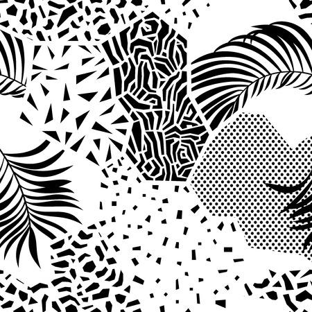 Abstract Seamless pattern illustration. Illustration