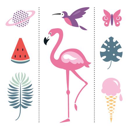 Trendy design elements Illustration