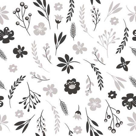bezszwowe kwiatowy wzór Ilustracje wektorowe