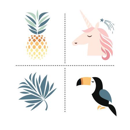 Trendy design elements Ilustracja