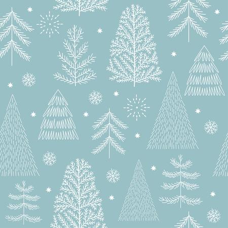 Naadloze kerst patroon Stockfoto - 85275345