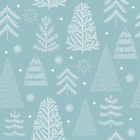 seamless christmas pattern 免版税图像 - 85275345