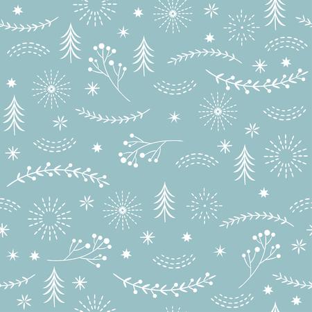 원활한 크리스마스 패턴