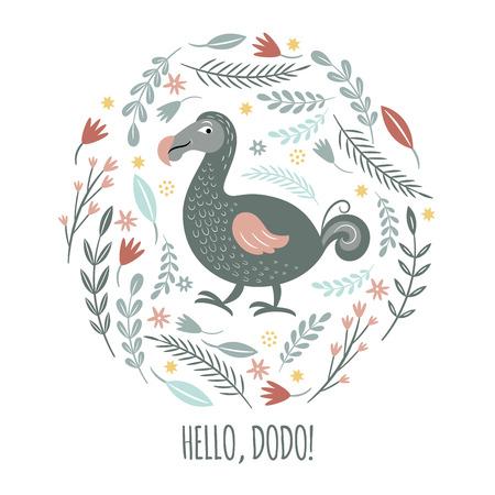 Simpatico uccello Dodo
