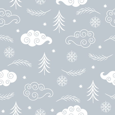 Seasons greetings background Illusztráció