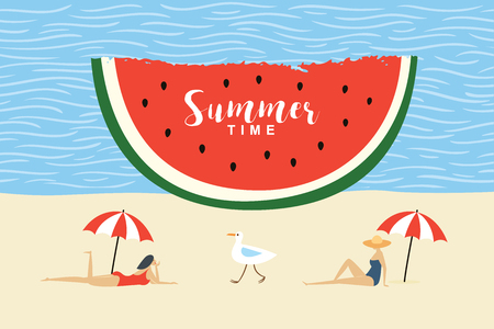 summertime vector illustration