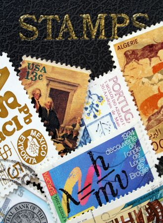 postmarked: Various stamps