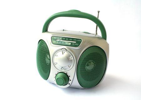 programme: Toy Radio over white