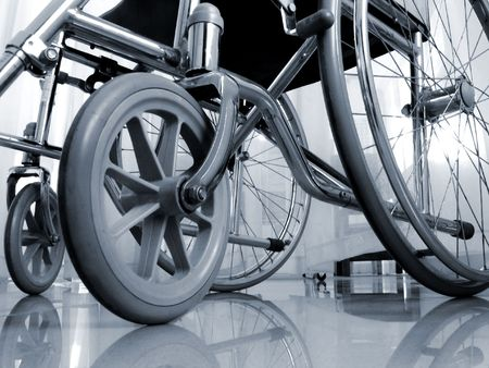 able: Wheelchair Stock Photo