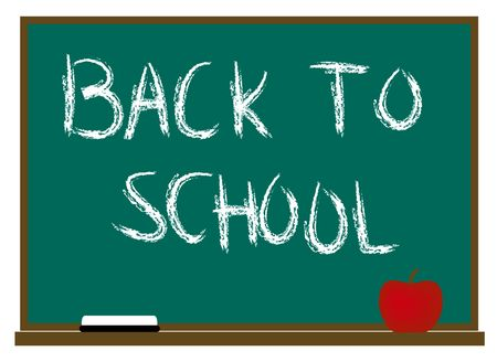 Back to School illustration Stock Photo