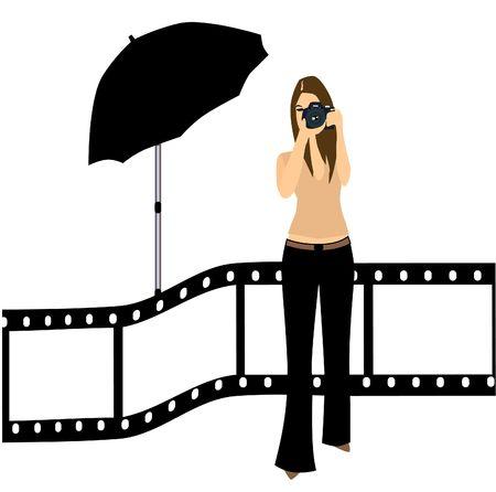 modelling: Photographer Illustration