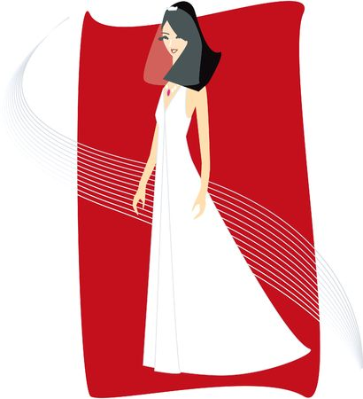 Bride Illustration
