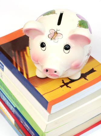 college fund savings: Saving for Education Stock Photo