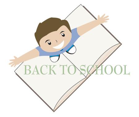 enrollment: Back to School Illustration