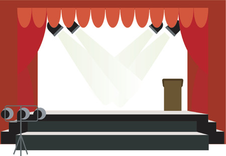 podium: Center Stage