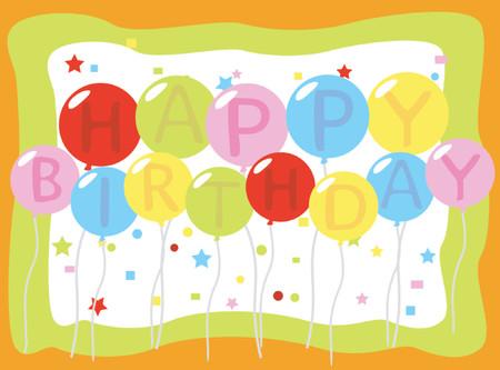 verjaardag ballonen: Verjaardag Luchtballons