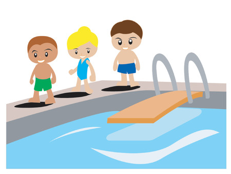 kids swimming pool: Nataci�n