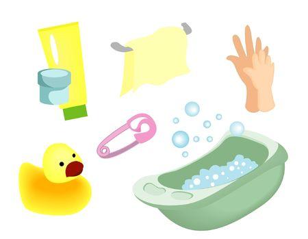 toiletries:  Icons