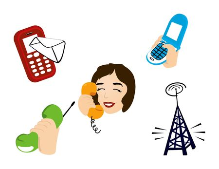 Communication Icons Stock Vector - 1390723