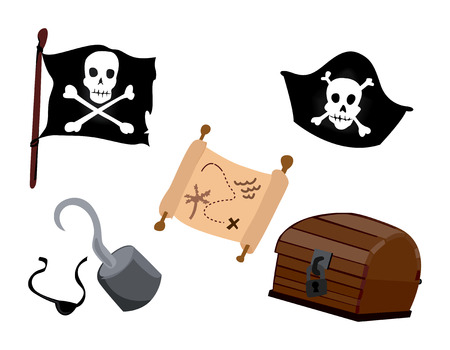 gold treasure: Pirate Icons