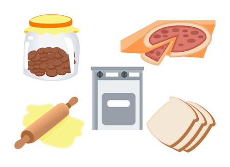 drawing pins: Baking Icons