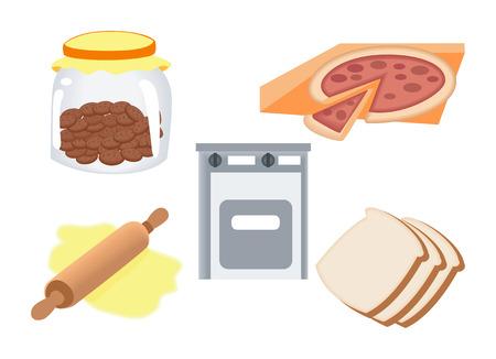 Icônes de cuisson
