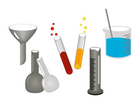 stirring: Chemistry Icons Illustration