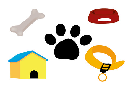 Dog Icons Stock Vector - 1390814