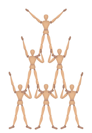 Mannequin Series: Pyramid Vector