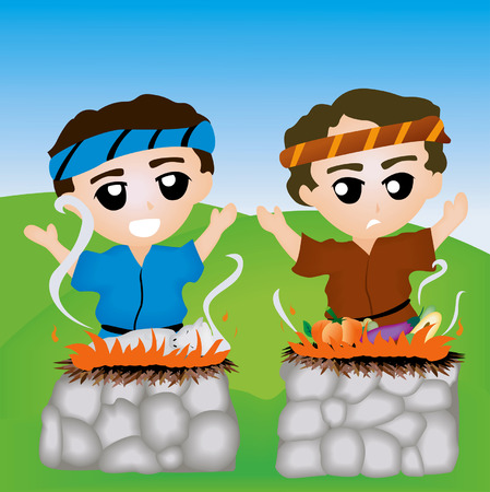 siblings: Bible Stories: Cain and Abel