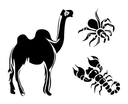 Desert Animals Vector