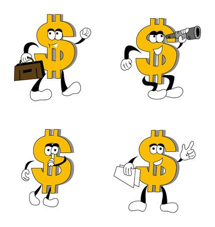 Dollar Sign Concepts Vector