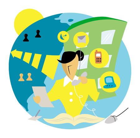 Business Concepts: Communication Vector