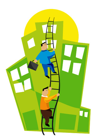 ambitions: Business Concept: Climbing